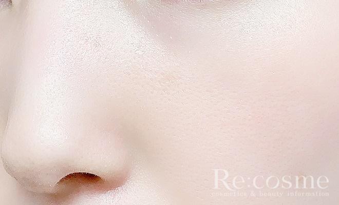 お米の化粧水使用後の肌
