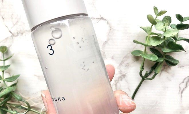 ムクナの化粧水をボトルの外から見た写真