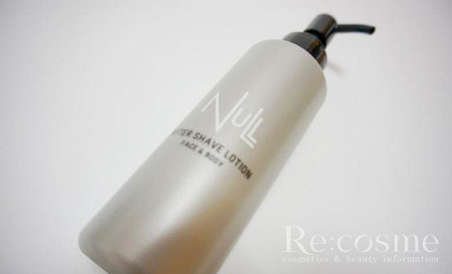 NULLのアフターシェーブローションの写真